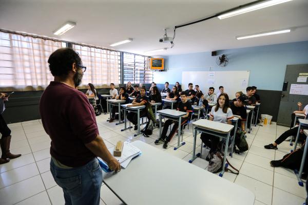 Professores: segundo governo, custos para atender a demanda são de aproximadamente R$ 13 milhões.