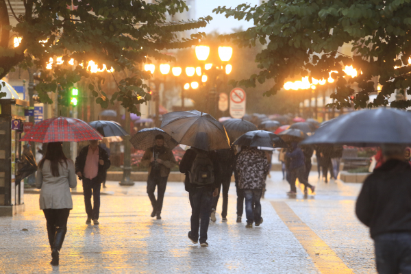 Frio e chuva darão apenas um 'até logo' ao Paraná, alerta Simepar