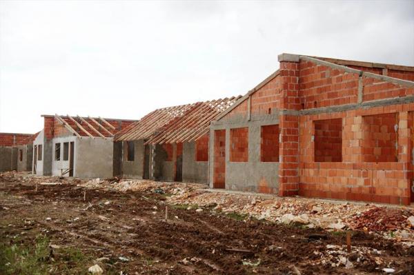 Unidades do 'Minha Casa Minha Vida' em construção