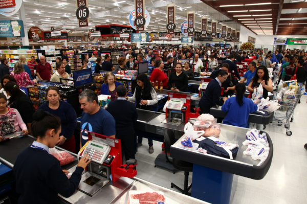 Supermercado da rede Condor
