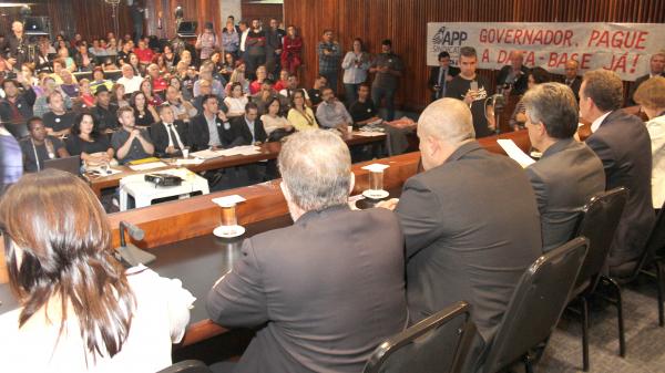 Audiência pública na Assembleia Legislativa aconteceu ontem