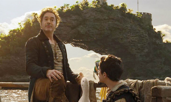 Robert Downey Jr. como Dr. Dolittle: aventura no fim do mundo