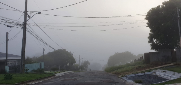Neblina em Curitiba