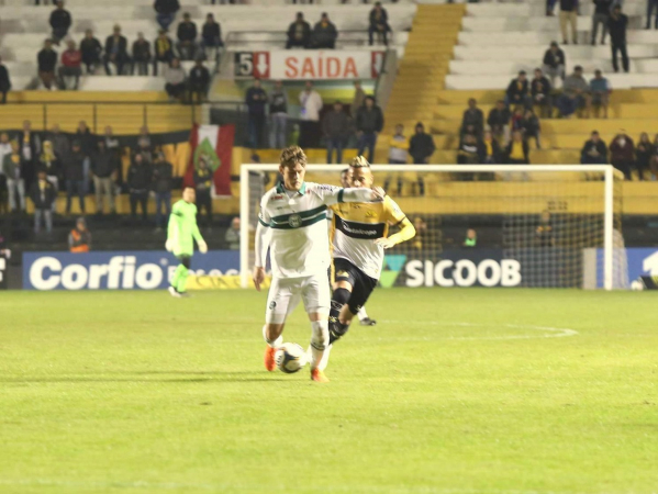 Luiz Henrique enfrenta o Criciúma: perdido em campo