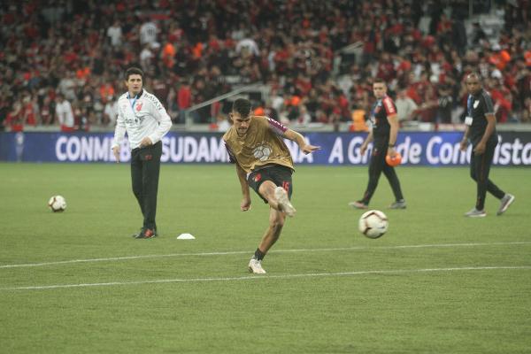 Bruno Guimarães: jogador mais valioso do Athletico, segundo o Transfermarkt