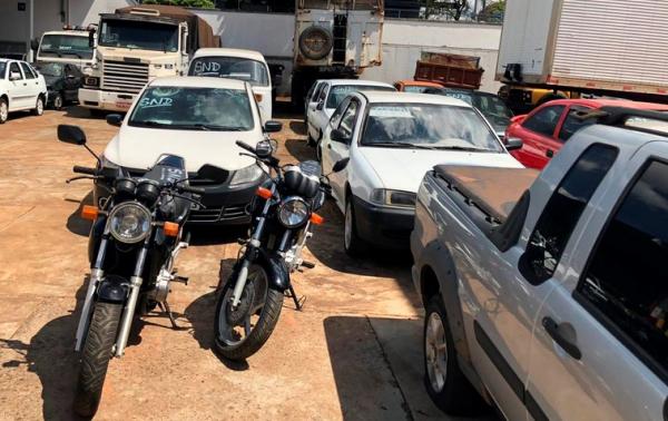 Leilão de veículos realizado em outubro somou R$ 487 mil para o combate ao tráfico