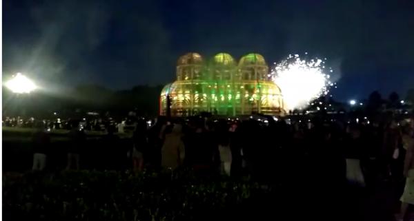 "Jardim Botânico se ""iluminou"" na festa de abertura"