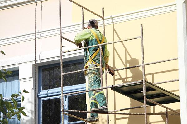 Trabalhador da construção civil: área tem campanha nesta semana