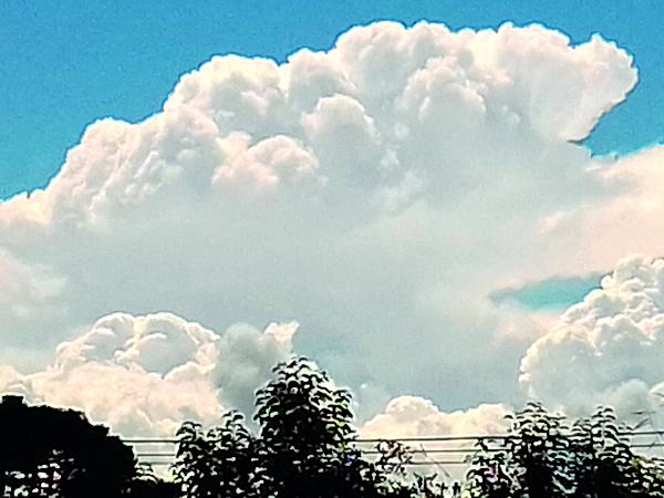 Curitiba deve ter nuvens de tarde