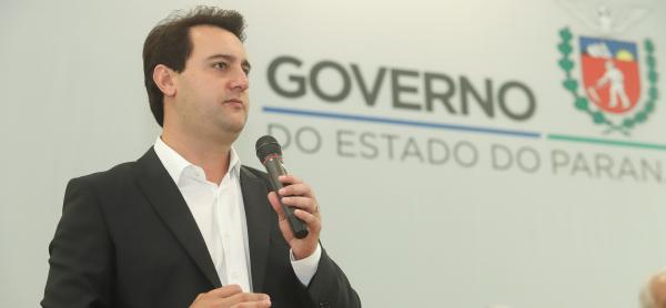 Ratinho Jr: porcentual de desaprovação ficou em 15,3%, segundo Paraná Pesquisas