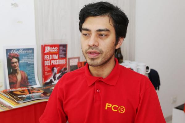 Diogo Furtado (PCO): juiz apontou falta de apresentação de documentos