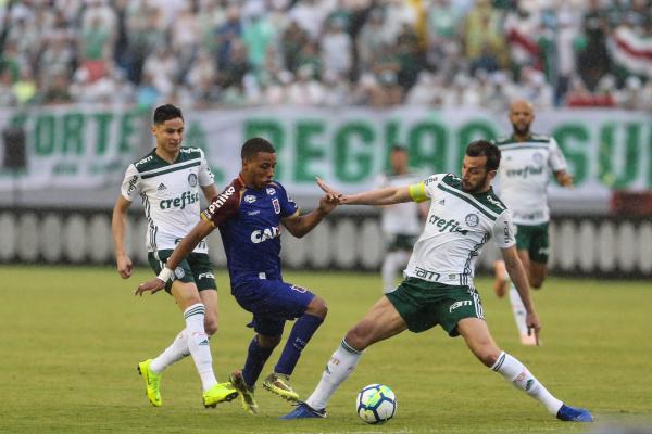 Kesslley enfrenta o Palmeiras, no Brasileirão 2018