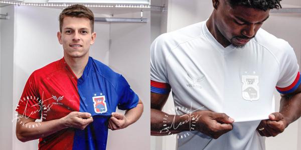 A nova camisa 1 e a nova camisa 2 do Paraná Clube