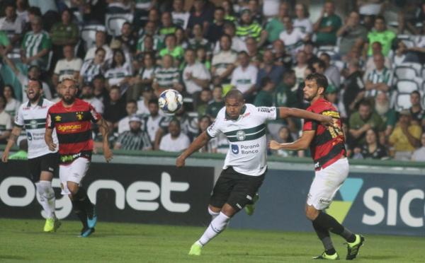 Rodrigão enfrenta o Sport, no Couto Pereira