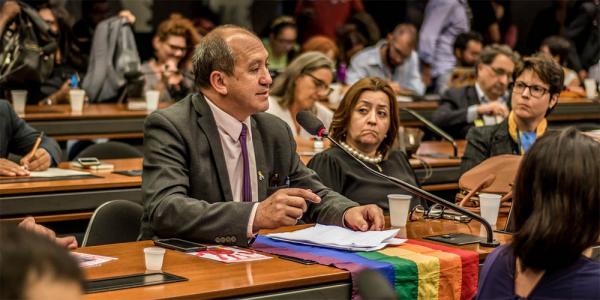Toni Reis: símbolo da luta contra a homofobia, ativista era um dos principais alvos do condenado