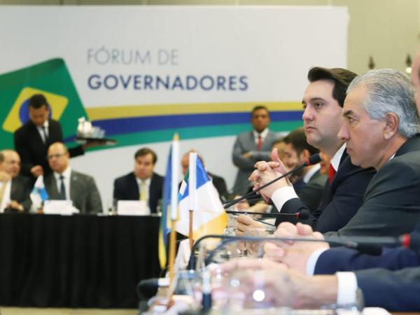 Ratinho Jr: paranaense também conversou com ministros do STF sobre dívida da União com a Lei Kandir