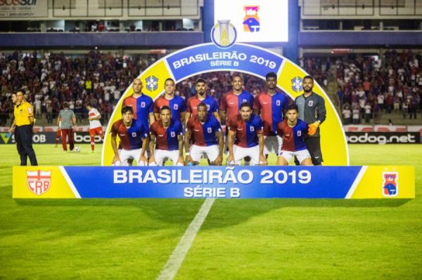 O time do Paraná Clube na Série B 2019
