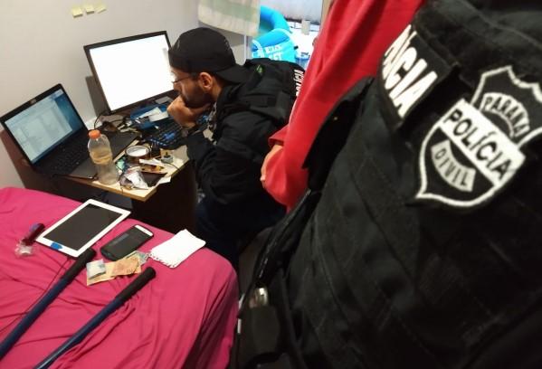 Na semana passada Polícia Civil do PR participou de uma ação nacional contra a pedofilia