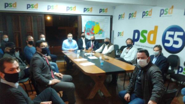 Decisão foi tomada ontem em reunião da Executiva do PSD de Curitiba