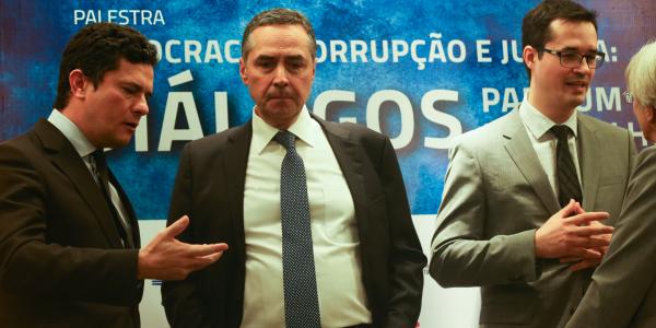 """Moro, Barroso e Dallagnol: jantar demonstraria preocupação de então juiz e procurador em """"seduzir"""" ministro do Supremo responsável por julgamento de processos da Lava Jato"""