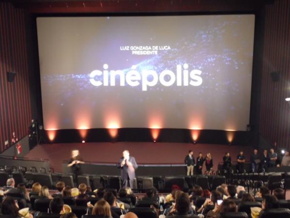 Inauguração para imprensa e convidados, das salas de cinema do shopping Jockey Plaza.