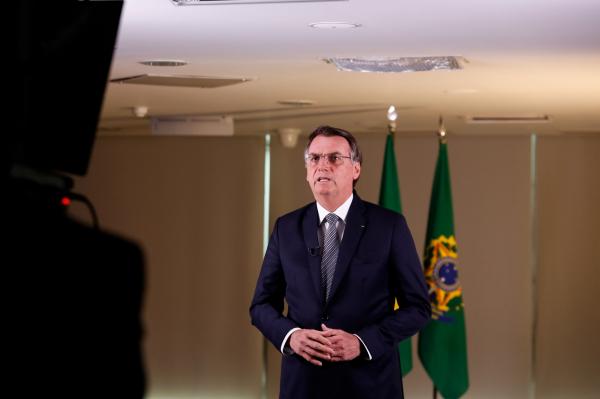 Bolsonaro: presidente também divulgou vídeo com entrevista de general sobre a Amazônia