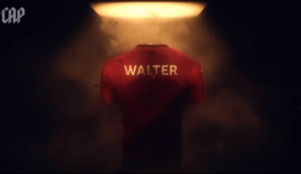 Vídeo do Athletico sobre a chegada de Walter