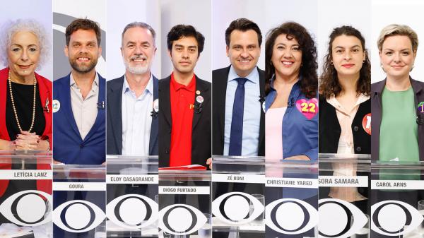 Leticia Lanz, Goura, Eloy Casagrande, Diogo Furtado, Zé Boni, Christiane Yared, Professora Samara e Carol Arns