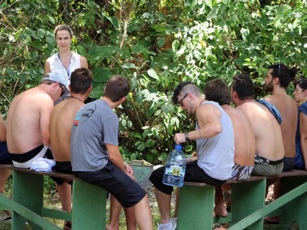 Audiência na Ilha do Mel