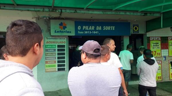 Casa lotérica em Curitiba