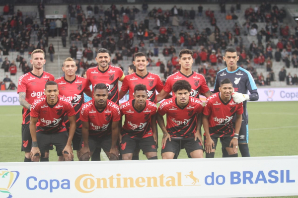 O Athletico da Copa do Brasil 2019