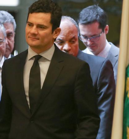Sergio Moro e Dallagnol: parceria