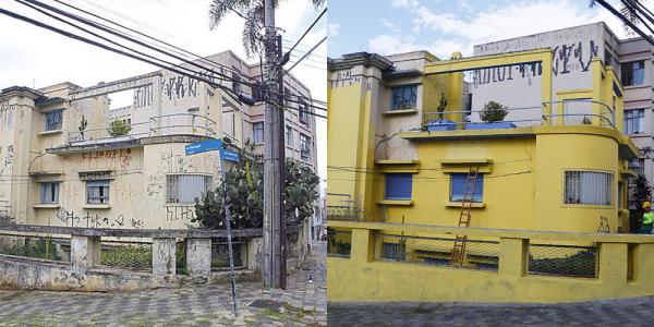 Projeto começa a recuperar imóveis históricos de Curitiba