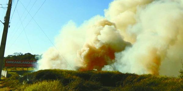 Incêndio na Avenida das Torres