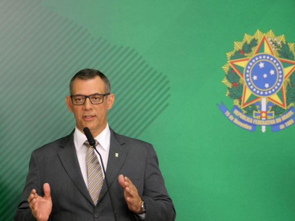 O porta-voz do governo Bolsonaro, Otávio Rêgo Barros