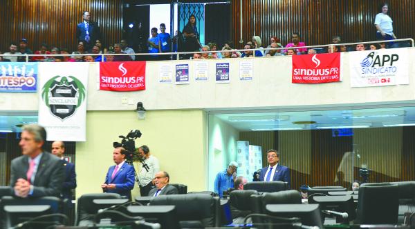 Assembleia: professores prometem mobilização