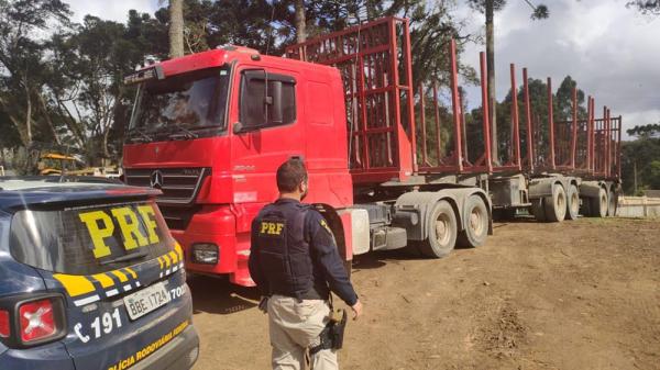 Caminhão estava em Curitiba