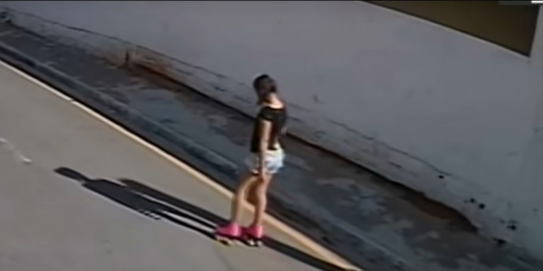 Vitória Gabrielly: última imagem de menina foi registrada por câmeras de segurança