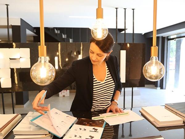 Simone Pacheco trocou a advocacia pelo designer de interiores