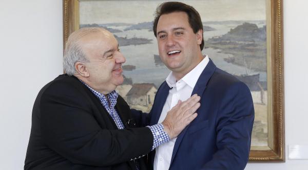 """Greca e Ratinho Jr: """"Um desejo de coração"""""""