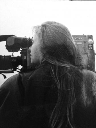 A cineasta francesa Paula Gaitán: ela trabalhou com Glauber Rocha e desde então está no Brasil