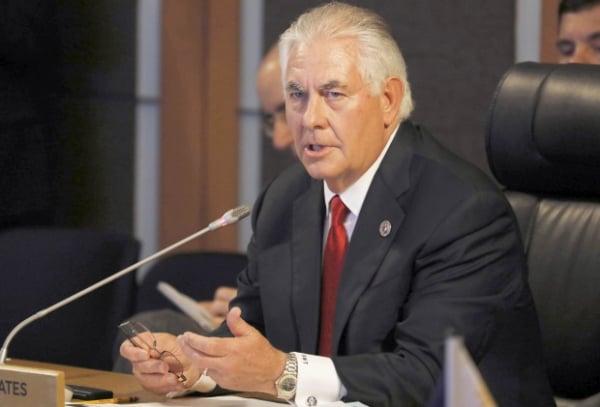Tillerson diz que Rússia provocou 'severa desconfiança' nos EUA