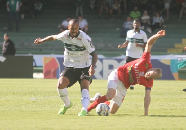 Alan Costa (à esquerda): jogador com mais atuações pelo Coxa em 2019
