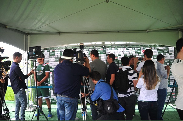 Entrevistas no Media Day do Coritiba