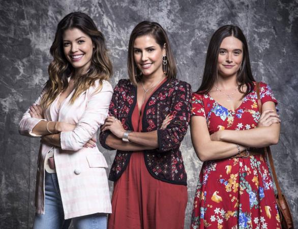 Vitória Strada, Deborah Secco e Juliana Paiva: testemunhas de crime