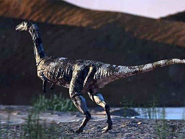 Reprodução do dinossauro paranaense