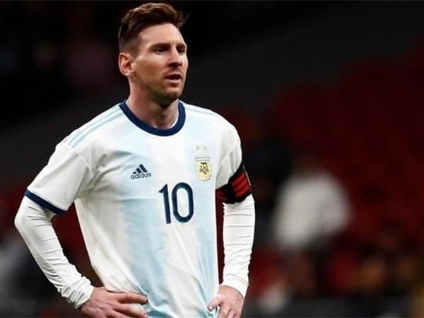 Messi, no jogo com a Venezuela