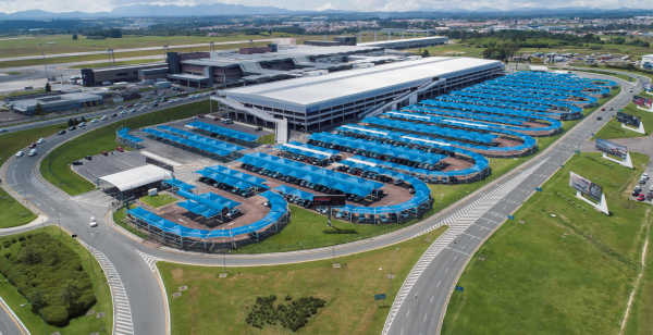 A aeroporto Afonso Pena