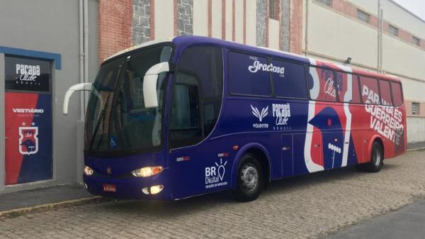 O ônibus da parceria com a Graciosa