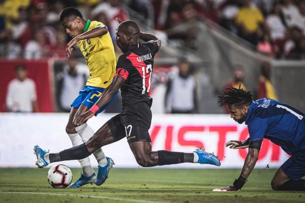 David Neres contra o Peru: Brasil passou em branco